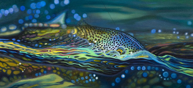 Fly-Fishing Art