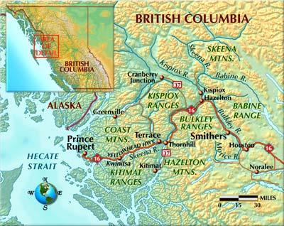 British Columbia Rivers Of Steel Midcurrent