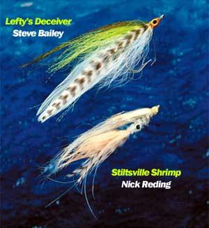 5-inch Tarpon// Snook//Redfish flies 4//0 Pack of 3 Tan//White Woolhead Deceivers