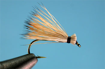 Bull elk hair tips.