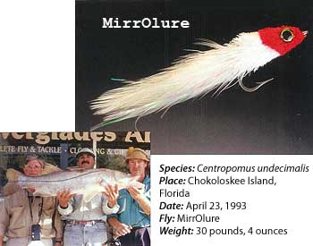MirrOlure Fly