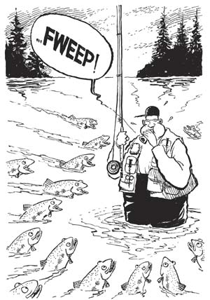 "Jack Ohman's ""Angler Management"""