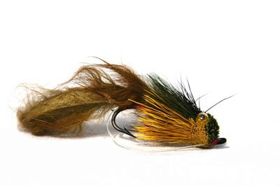 SMALL CAT BUG//Stalking Bug Trout flies SIZE 12