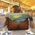 Marc Crapo's Custom Leather Work/Man Bag