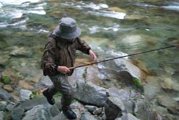 Traditional Tenkara Angler