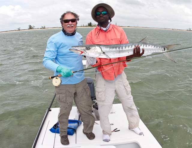 Chico Fernandez with Barracuda
