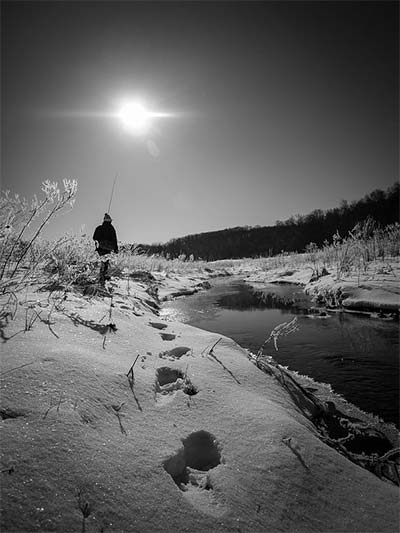 Brad Eaton fly fishing photo