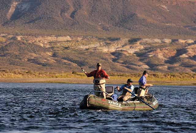 fly fishing watercraft