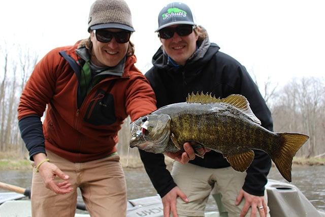 Michigan Smallmouth fly fishing