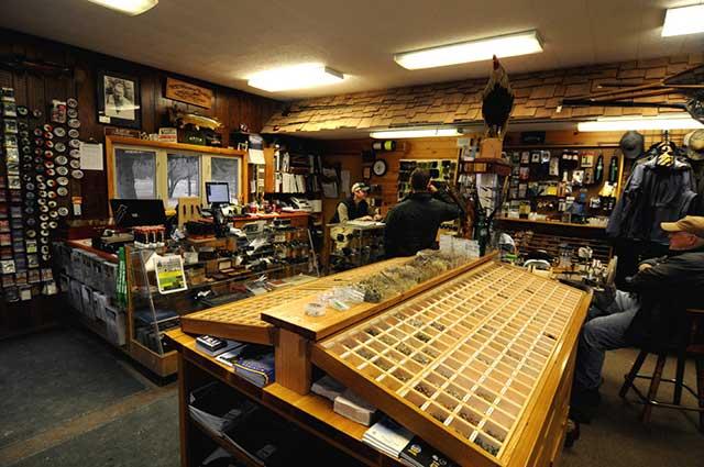 Shop talk at the Gates Au Sable Lodge