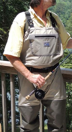Chota Bob Clouser Series Convertible Fly Fishing Waders