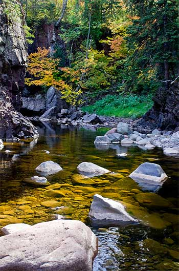 Baptism River Joshua Bergan