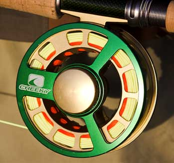 Cheeky Fly Reel with Backing