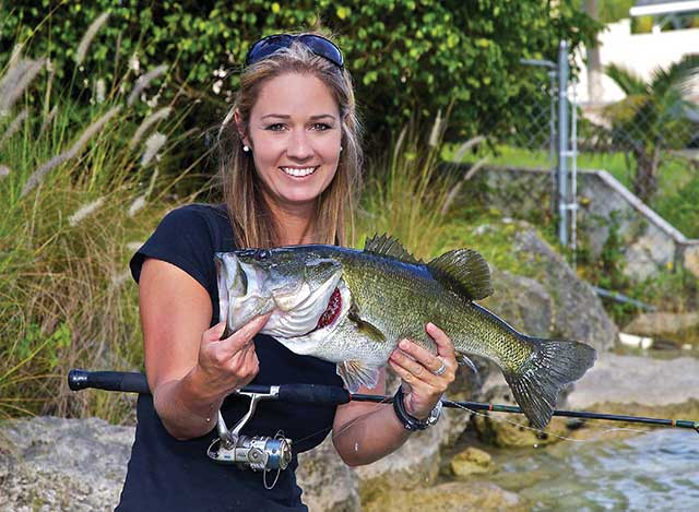Wading for Largemouth Bass in Florida