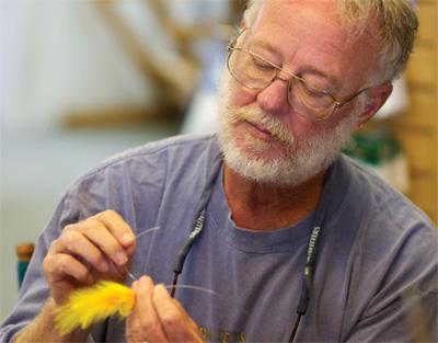 Sandy Moret Fly Fishing for Redfish