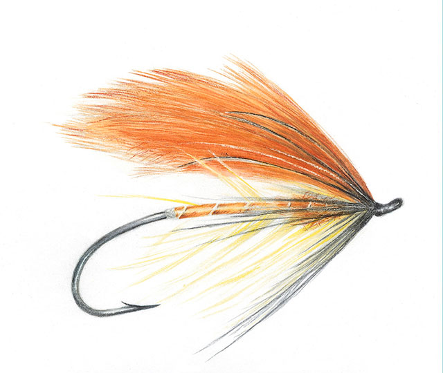 Sol Duc Spey Fly