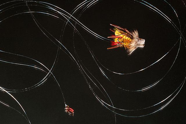 Hopper Dropper Fly Fishing Rig