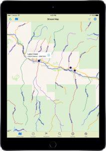 stream map