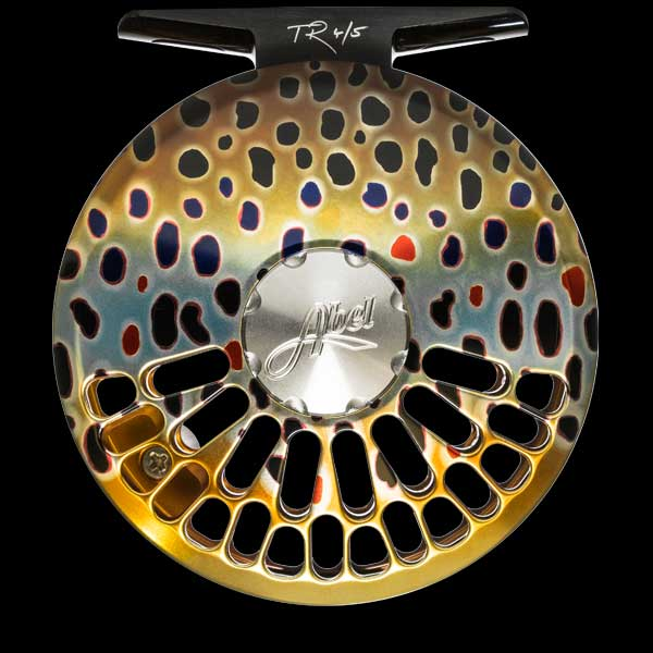 Abel TR Series Reel in Native Brown Trout Finish
