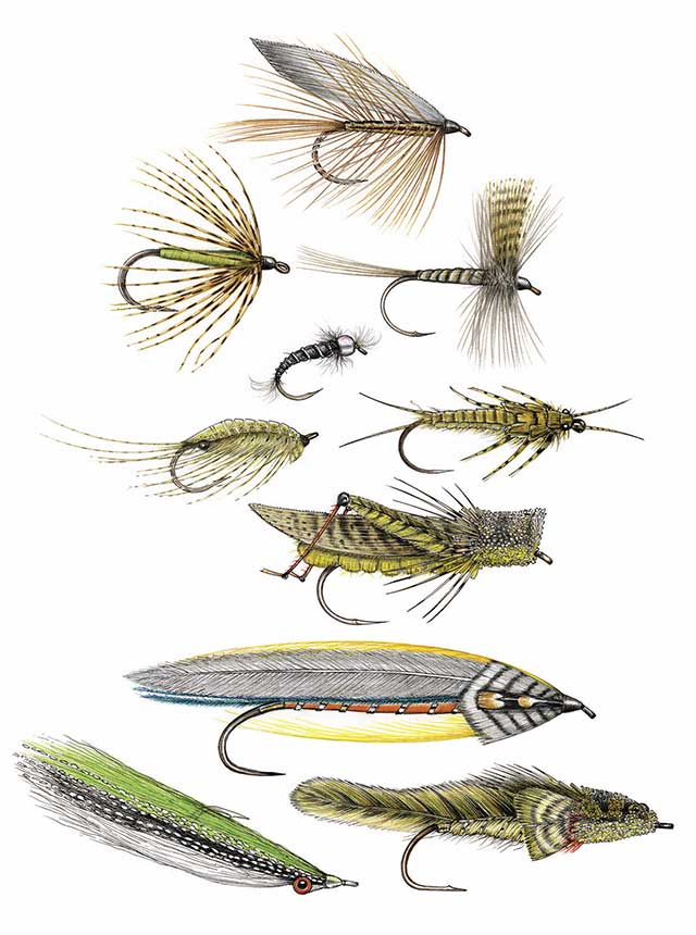 Trout Flies by Dave Whitlock