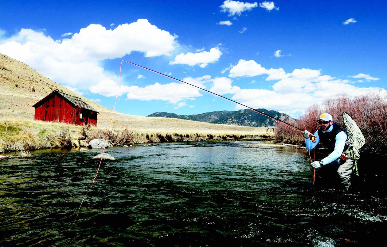 Fly Fishing for Trout Landon Mayer