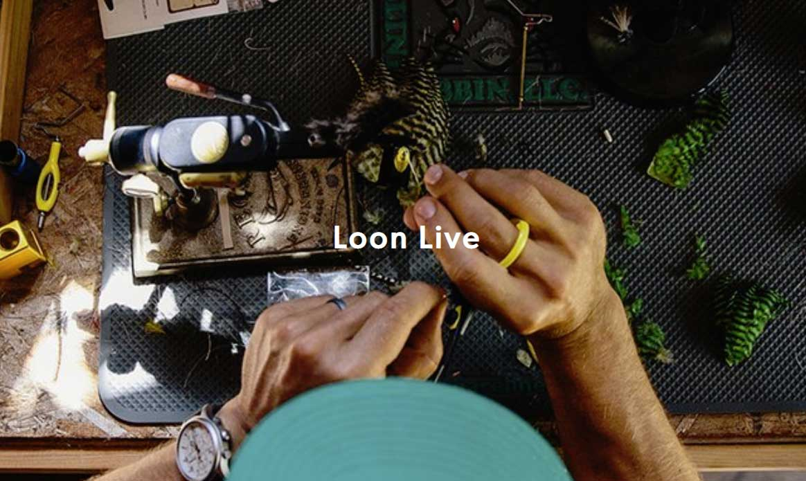 Loon Live Fly Tying Demo