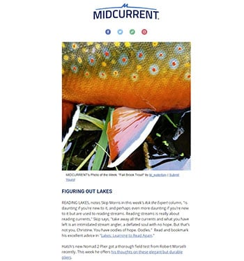 Midcurrent Fly Fishing Newsletter