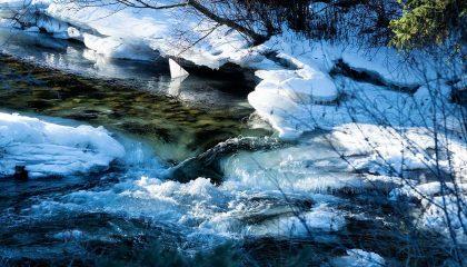 Photo Essay: Yellowstone Region Rivers in January
