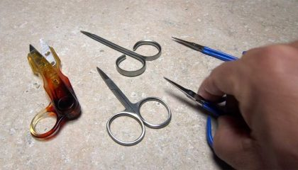 Fly Tying: Hold On to Your Scissors