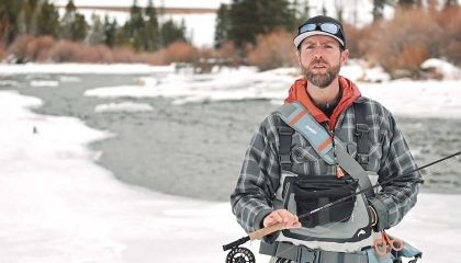 6 Winter Trout Fly Fishing Tips