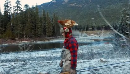 Fly Fishing for Steelhead... With a Pet Chicken