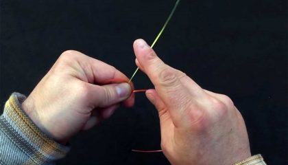 Four Fly Fishing Knots for Connecting a Leader to Tippet Material