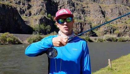 Four Simple Tricks: Holding a Fly Rod