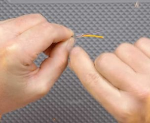 Attaching Fly Fishing Leader to Line With a Nail Knot