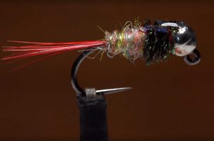 Video: How to Tie a Tungsten Rainbow Dart