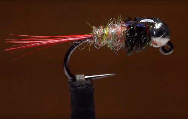 How to Tie a Tungsten Rainbow Dart