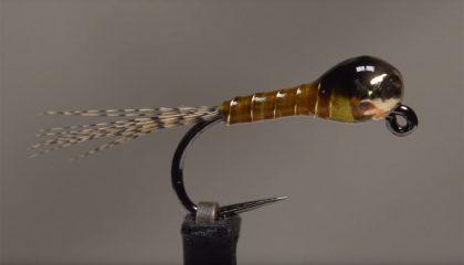 How to Tie a Sulphur Perdigon