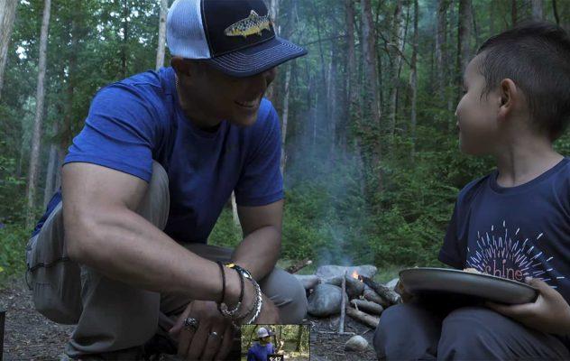 Camping and Fishing: Pisgah National Forest, North Carolina