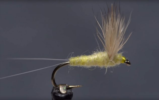 Fly Tying: How to Tie a Sulphur Comparadun