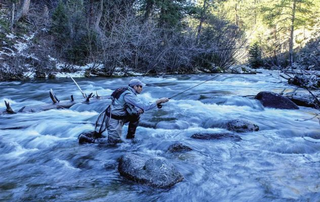 How to Prevent Trout From Seeing You