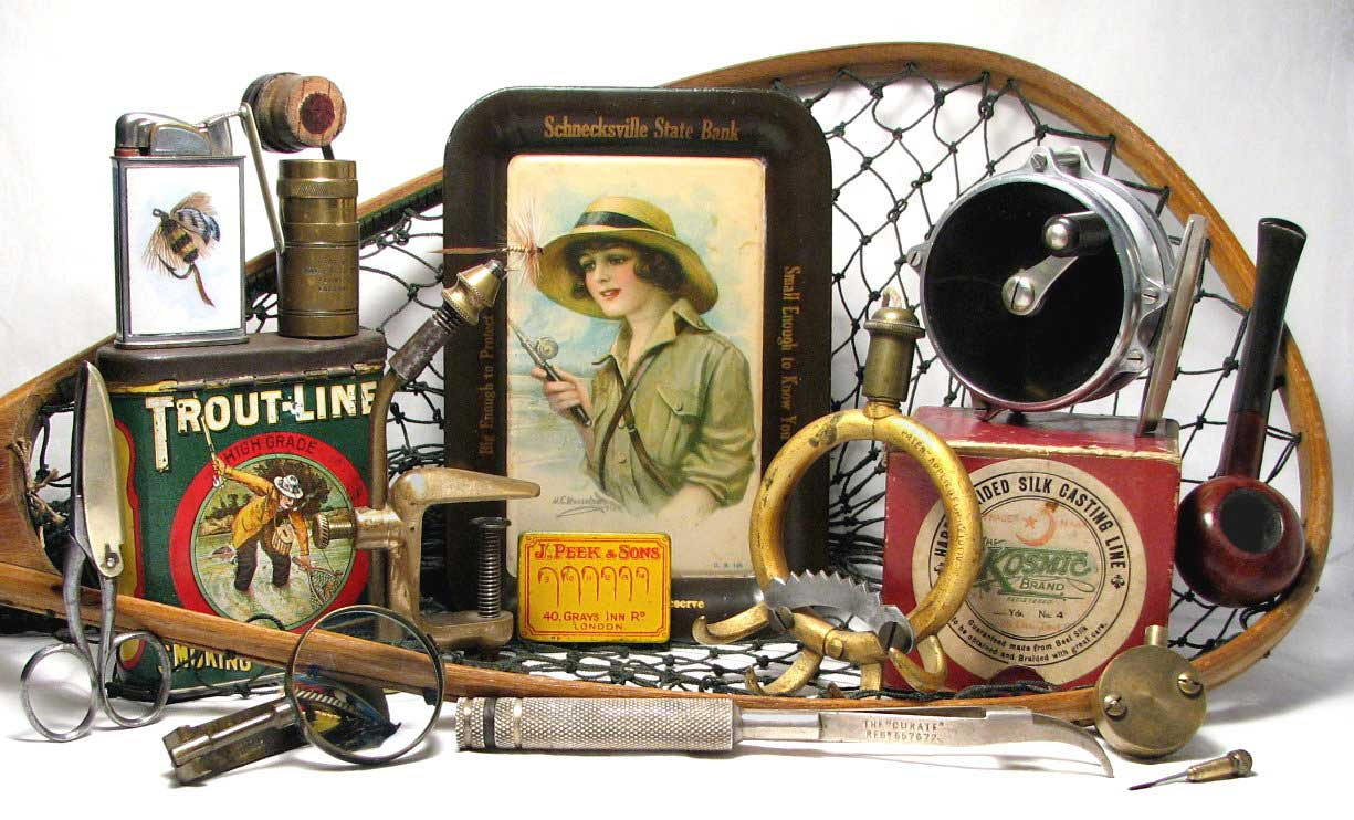 Fly Fishing Collectibles and Antiques