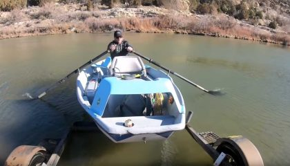 How to Fly Fish from a Drift Boat (Humor)