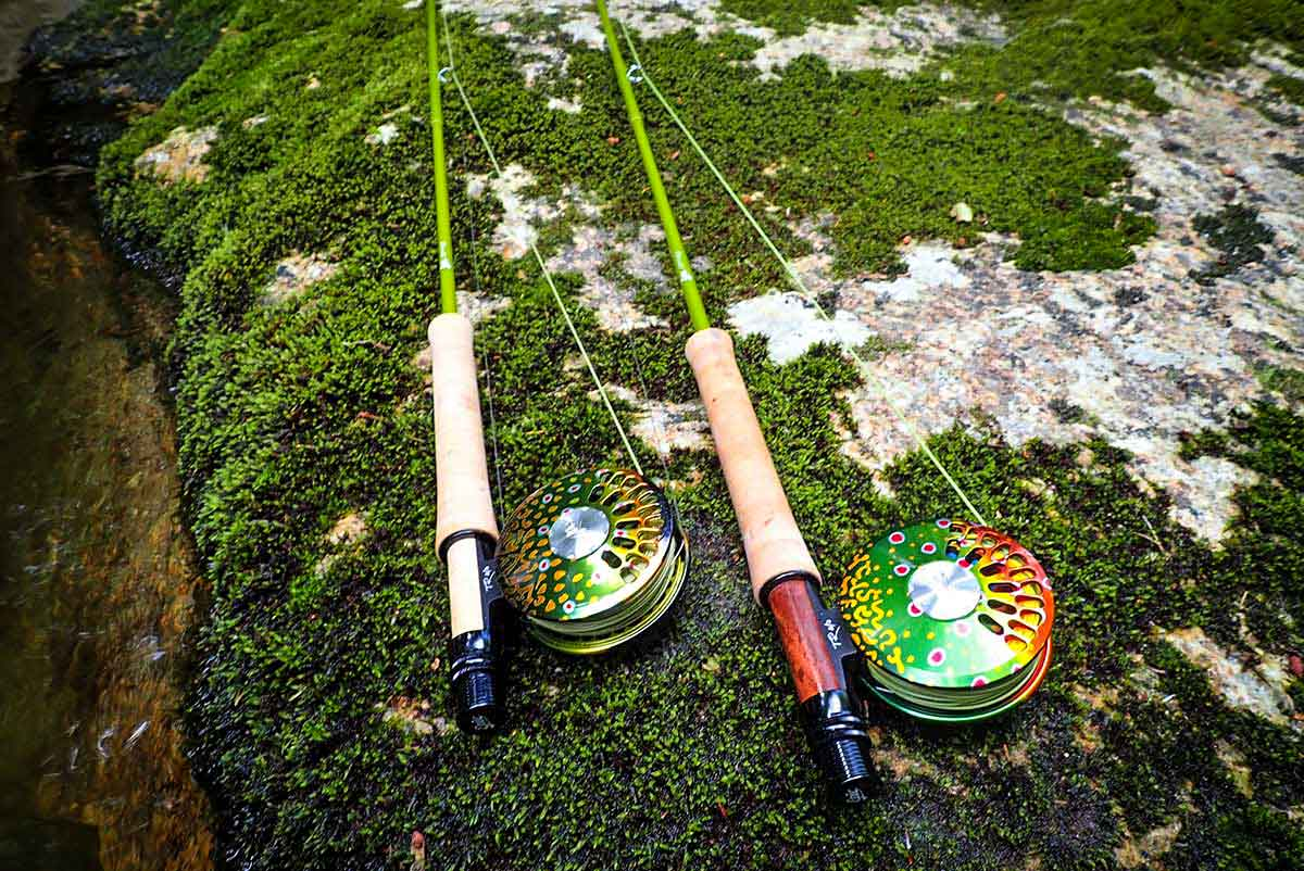 Epic 7' 3wt Fastglass Fly Rods