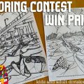 DeYoung Coloring Contest