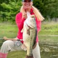 Meredith McCord Lands 10-pound Bass