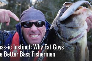 Are Fat Guys Better Bass Angelrs?