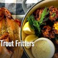 Smoked Trout Fritters Recipe
