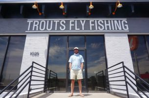 Trouts Fly Fishing Moves to New Location