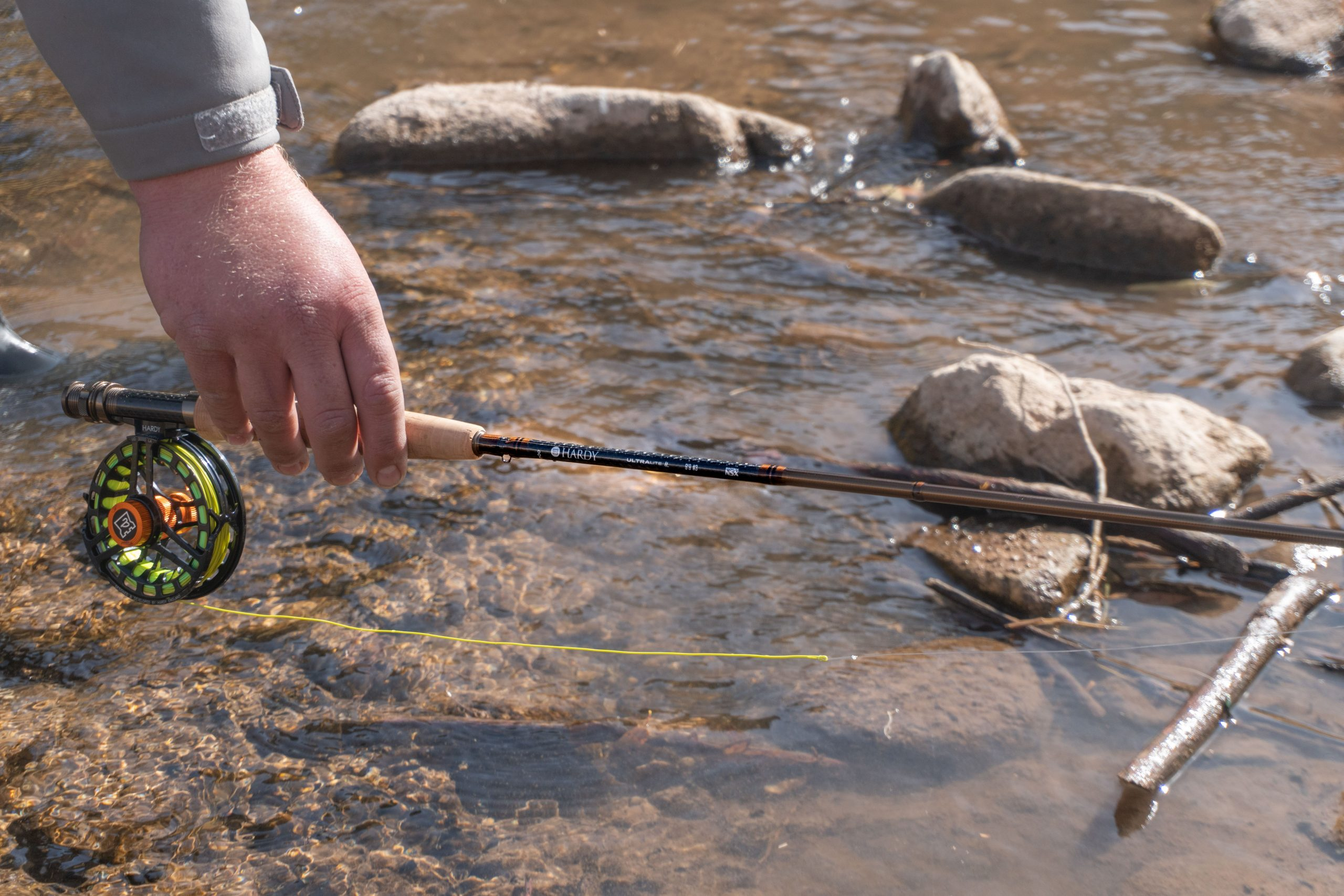 hardy fly rod