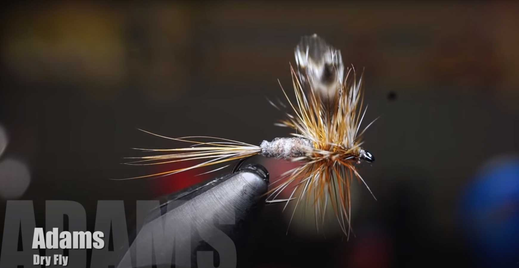 How to Tie an Adams Dry Fly